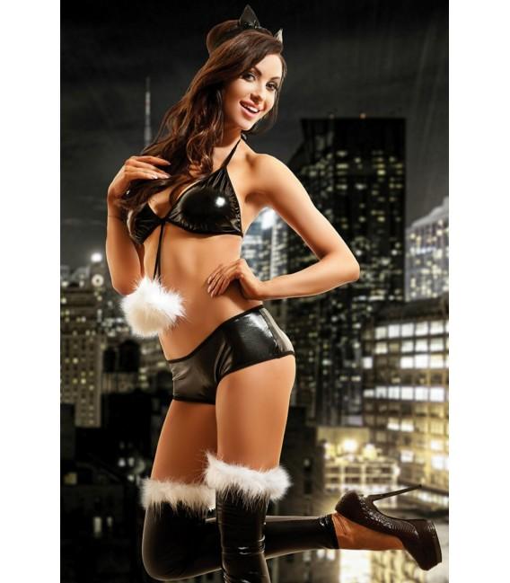Wetlook-Kostüm Kitty Set von Hamana Dessous Großbild