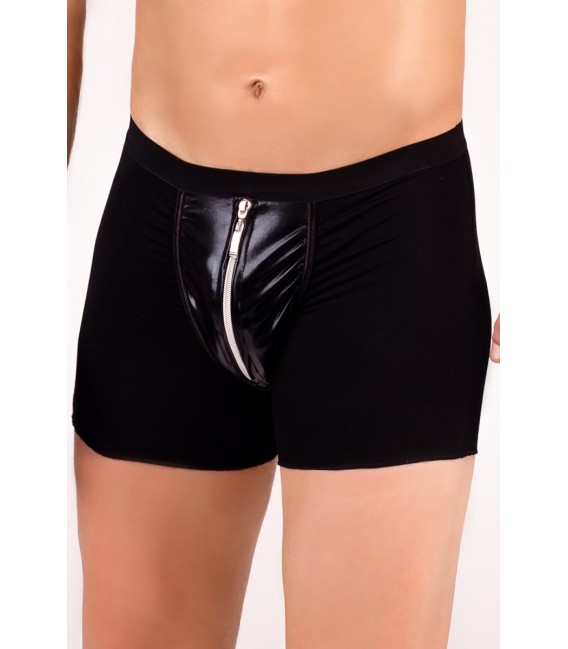 schwarze Boxer-Shorts MC/9001 von Andalea Dessous