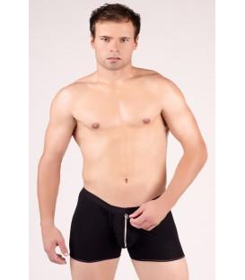 schwarze Boxer-Shorts MC/9005 von Andalea Dessous
