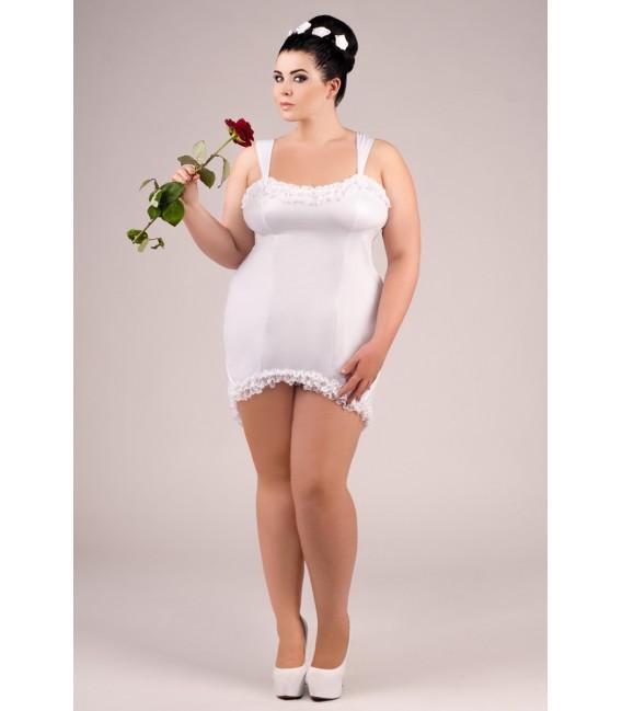 weißes Kleid E/2021 von Andalea Dessous Großbild