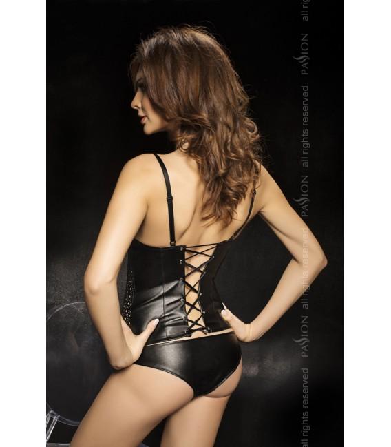 schwarzes Set Samos von Passion Second Skin Großbild