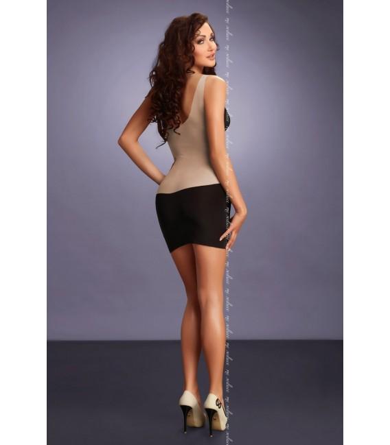 schwarzes Kleid Ava von MeSeduce Dessous Großbild