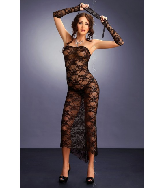 schwarzes Kleid Branca von MeSeduce Dessous Großbild