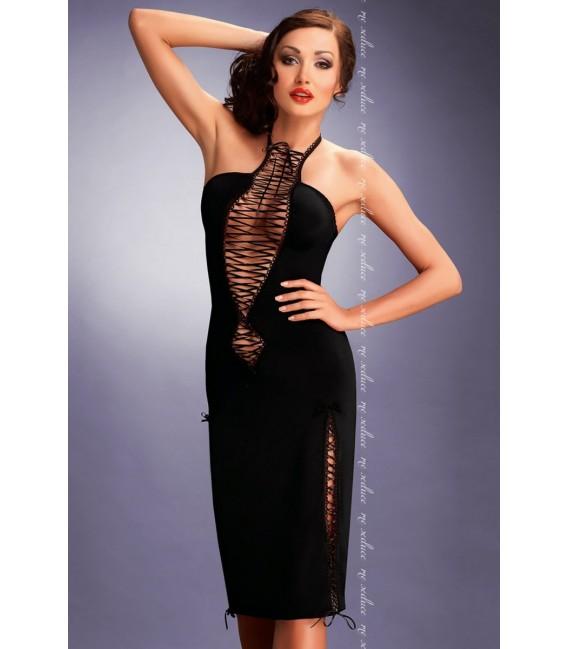 schwarzes Kleid Maxima von MeSeduce Dessous Großbild