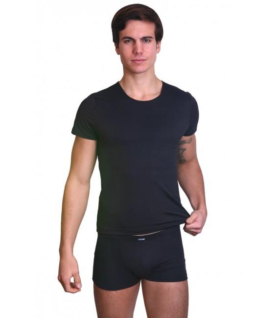 schwarzes Herren T-Shirt Rocket von Look Me Großbild