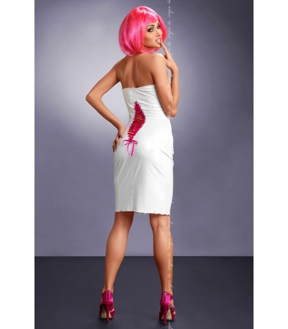 weißes Kleid Xenia von MeSeduce Dessous Großbild