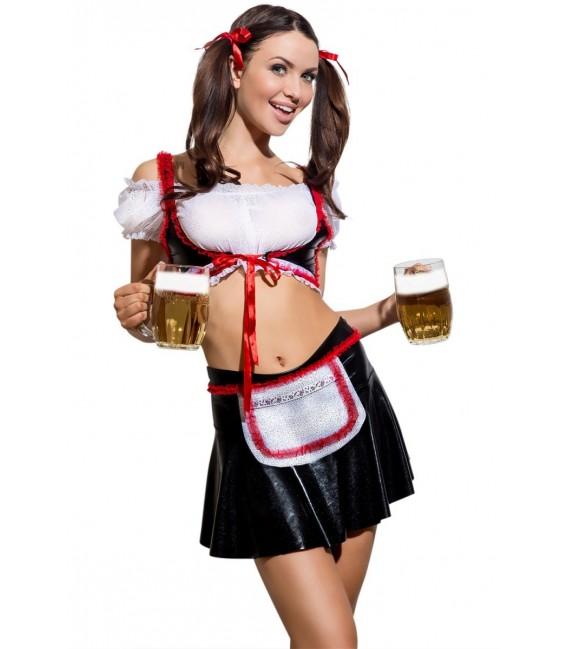 5teiliges Outfit Waitress Heidi von Hamana Dessous