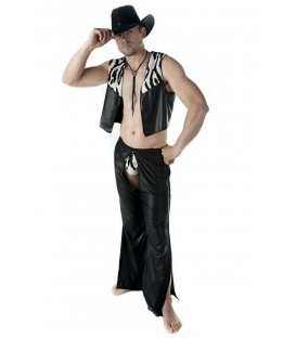 3-teiliges Cowboy-Set SW/105 Andalea Sexy Work Kollektion