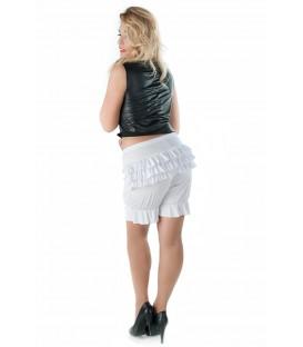 weißer Pantaloon SW/121 Andalea Sexy Work Kollektion