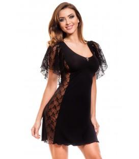 schwarzes Nachtkleid Marietta von Hamana