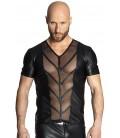 schwarzes Shirt H029 von Noir Handmade