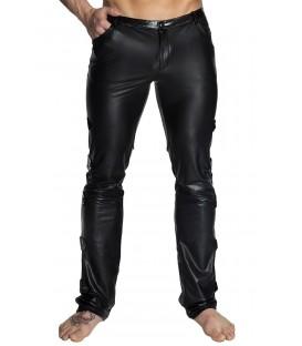 schwarze lange Hose H032 von Noir Handmade
