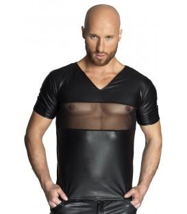 schwarzes T-Shirt H034 von Noir Handmade