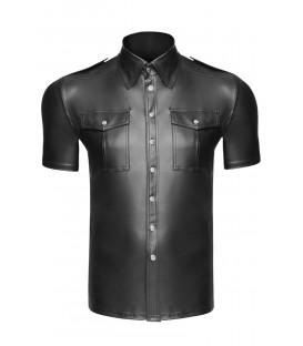 schwarzes T-Shirt H011 von Noir Handmade