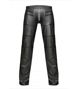 schwarze lange Hose H021 von Noir Handmade