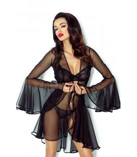 schwarzer Kimono Cassandra von Demoniq Magnetic Collection