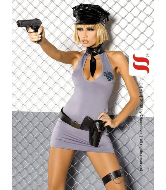 Rollenspielkostüm OB-Police dress - Bild 1