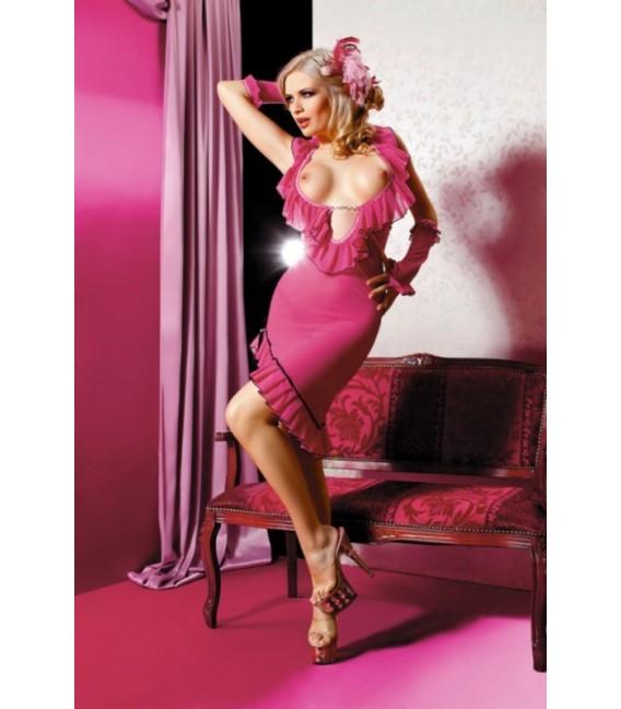 Großbild Neglige AN Miriam pink Minikleid - Bild