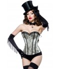 Burlesque Jacquard-Corsage - AT10344
