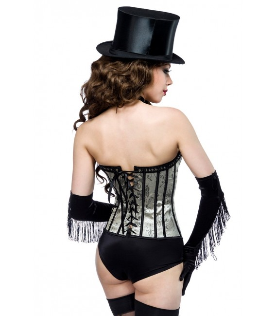 Burlesque Jacquard-Corsage - AT10344 Bild 2