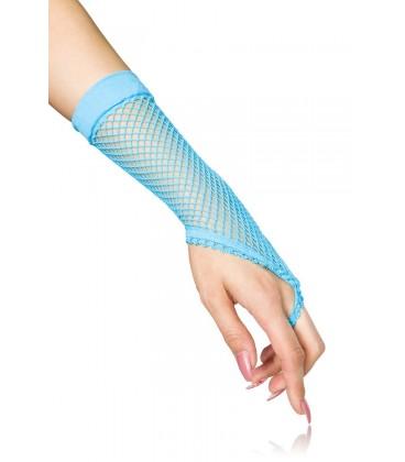 Netzhandstulpen kurz blau - AT10384