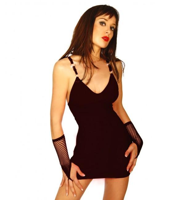 Minikleid schwarz - AT10752 Bild 3