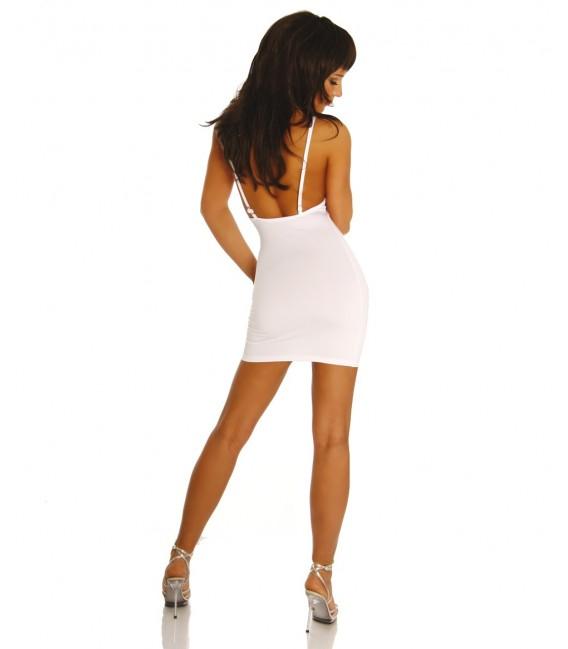 Minikleid weiß - AT10752  Bild 2