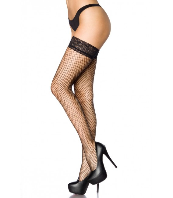 Netz-Stockings schwarz - AT10801 Bild 2