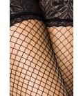 Netz-Stockings schwarz - AT10801
