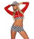 Racing-Hot-Pants-Set rot - AT10955