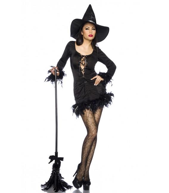zauberhaft schönes Hexen-Minikleid