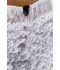 Rüschen-Panty weiß - AT11149