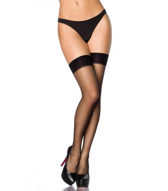 Stockings mit Naht schwarz - AT11422 Bild 2