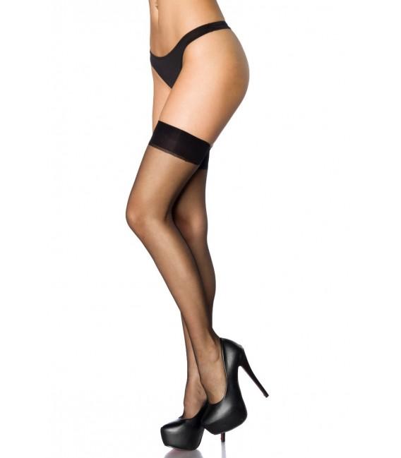 Stockings mit Naht schwarz - AT11422 Bild 3