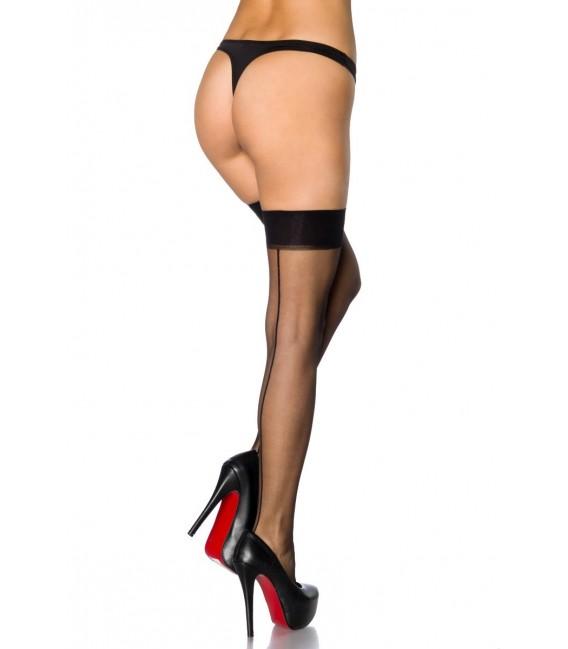 Stockings mit Naht schwarz - AT11422 Bild 4