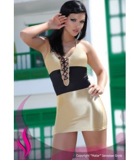 Minikleid PA Holiday gold