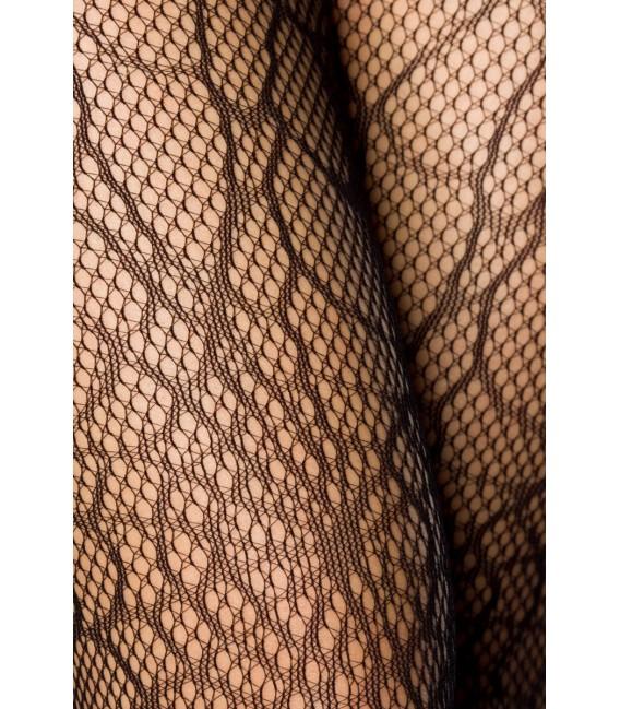 Netz-Strumpfhose mit Spinnennetz-Muster - AT11577 Bild 4