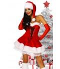 Weihnachts-Petticoatkleid