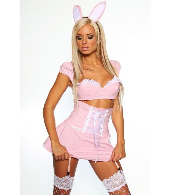 Lack-Bunny-Kostüm