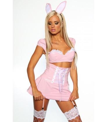 Lack-Bunny-Kostüm - AT11742