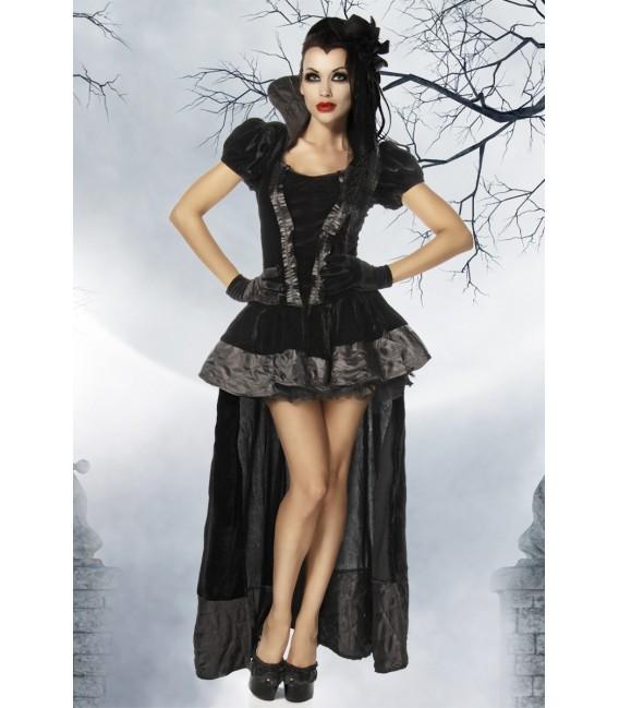 Hochwertiges Vampir-/Gothic-Kostüm aus Samt