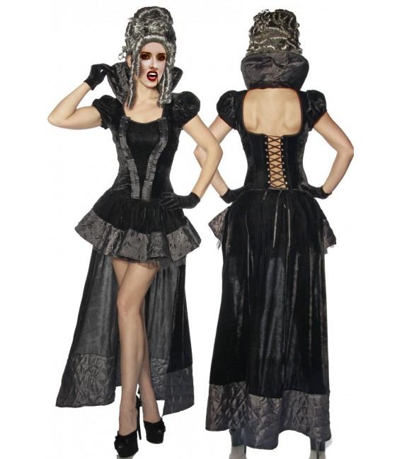 Hochwertiges Vampir-/Gothic-Kostüm aus Samt Bild 4