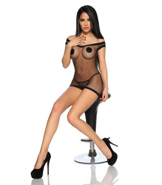Sexy Neglige schwarz Bild 3