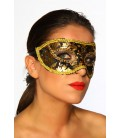 Maske schwarz/gold - AT11850