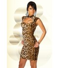 Kleid mit Schnürung leo - AT11888