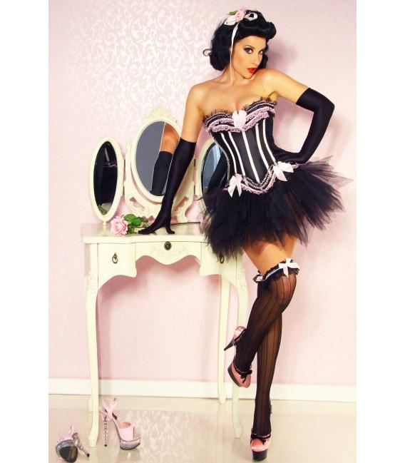 Burlesque-Corsage - AT11892 Bild 4