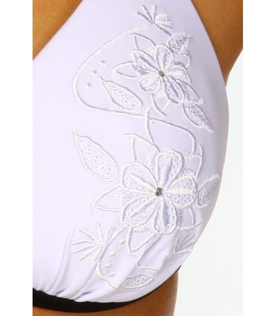 Heißer Push-Up-Bikini in schwarz/weiß Bild 3
