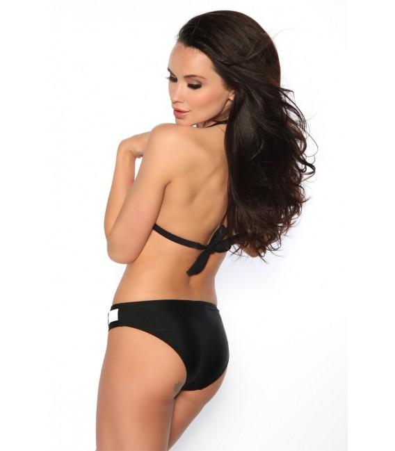 Heißer Push-Up-Bikini in schwarz/weiß Bild 7