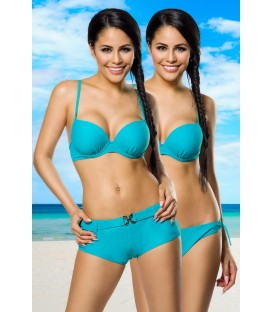 Push-Up-Bikini-Set türkis - AT12029