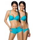 Push-Up-Bikini-Set türkis - AT12029